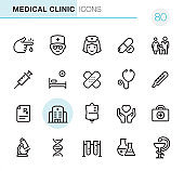 Medical & Healthcare line icon set
