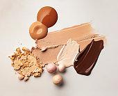 Liquid cosmetic texture