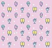 Sweet Dessert Pattern design 1