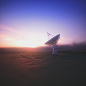 Giant Satellite Dishe for Signal