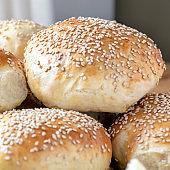 home baked  beard rolls