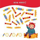 Counting educational children game