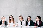 job opening corporate committee team copy space