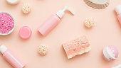 beauty treatment bath salt handmade soap lotion