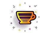 Americano coffee icon. Hot drink sign. Vector