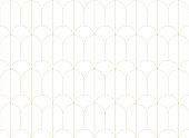 Seamless Art Deco Pattern. Vintage geometric minimalistic background. Abstract Luxury Illustration.