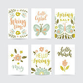 Creative spring cards