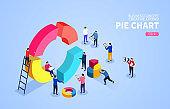 Pie chart puzzle and data analysis