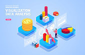 Isometric Visualization Data Analysis and Research