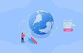 Trade distribution, global financial trade