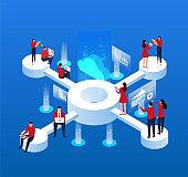 Network cloud data sharing