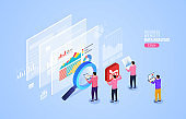 Website information analysis and statistics, monitoring growth index