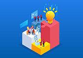 Creative team financial work