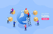 Global distribution, global trade logistics and distribution services