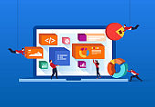 Data website analysis and web development