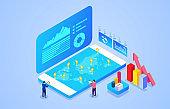 Digital online data analysis for smartphones
