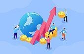 Global business finance development