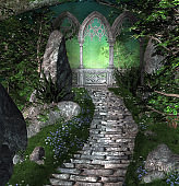 Pathway to the magic gate