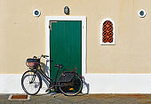 Bicycle in Alghero, Sardinia, Italy