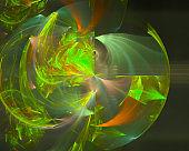 abstract digital fractal creative