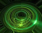 abstract fractal digital beautiful fantasy design