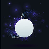 Abstract glowing background, creative covert