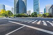 urban traffic road with cityscape in modern city of China