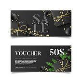 Gift voucher for Black Friday sale