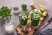 weight loss, detox, easy, healthy, breakfast, spinach, simple, kale, avocado, printable