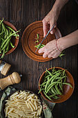 recipe, salad, penne salad, pesto, pesto pasta salad, chicken, slow motion, parmesan, recipe skillet, pasta primavera