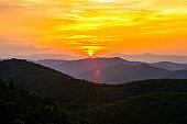 Sunrise From East Fork