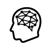 AI ( arttificial intelligence) / innovation technology icon