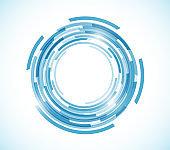 circle tech color touch design