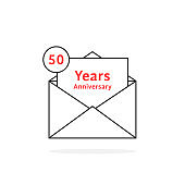 thin line 50 years anniversary like open letter