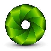 Symbol 3D shutter