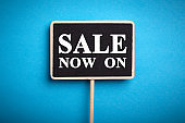 Sale Now On Business Sign