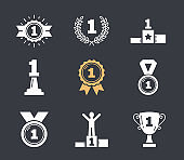 First Place Icons