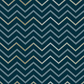 Seamless abstract geometric zigzag pattern Elegant luxury golden lines on a dark blue background Mens pattern zigzag print on paper, fabric, wallpaper Design element Vector background zigzag pattern
