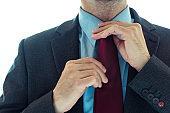 Businessman in elegant suit