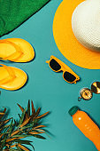 Travel accessories to enjoy summertime beach holiday vacation