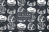 Italian pastries design
