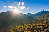Sunset at Mount Washington, New Hampshire