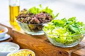 Salad bar for healthy