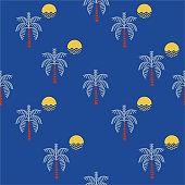 Summer beach patterns