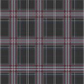 Winter grey Tartan/Plaid seamless pattern in vector