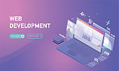 web development java concept