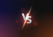 Versus vs background. versus logo vs letters for sports and fight competition.Vector illustration.