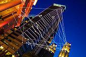 Futuristic Singapore electromagnetic signals