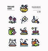 Thailand icon set 3.