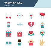 Icon set - valentine day